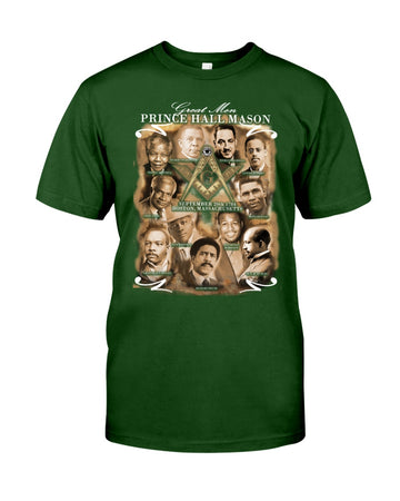 Great Men Prince Hall Mason Guys Tee