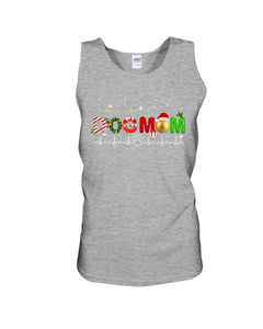 Merry Christmas Dog Mom Gift For Dog Lovers Unisex Tank Top