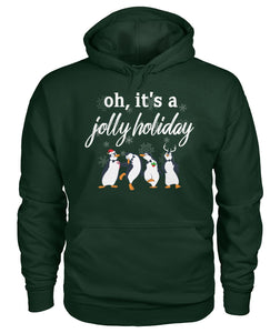 Jolly Holiday Gift For Christmas Sweater Hoodie