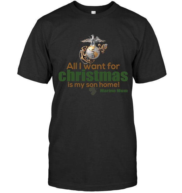 All I Wannt For Christmas Is My Son T-Shirt Guys Tee