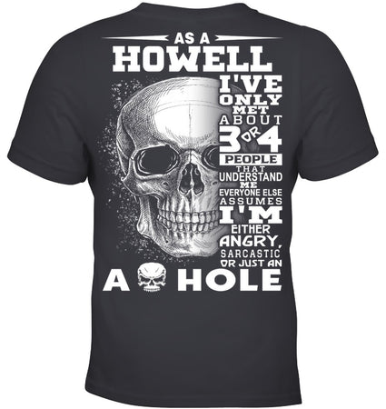 Howell Quote Skull Shirt Youth Tee