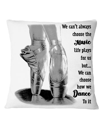 How We Dance To It For Ballet Lovers Pillow Cover