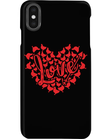 The Great Love For Chicken Custom Design Phone case