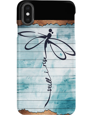 Still I Rise Ver Dragonfly Phone case