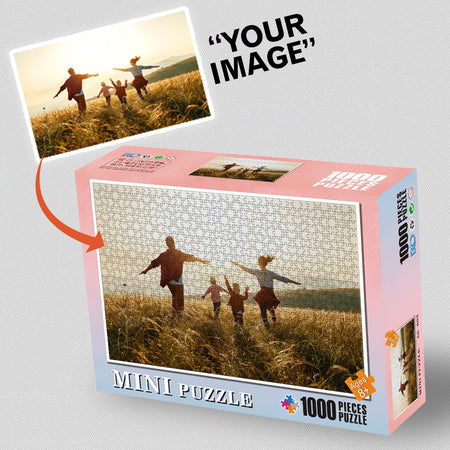 Custom Personalized Photo Jigsaw Puzzles For Kids Adults