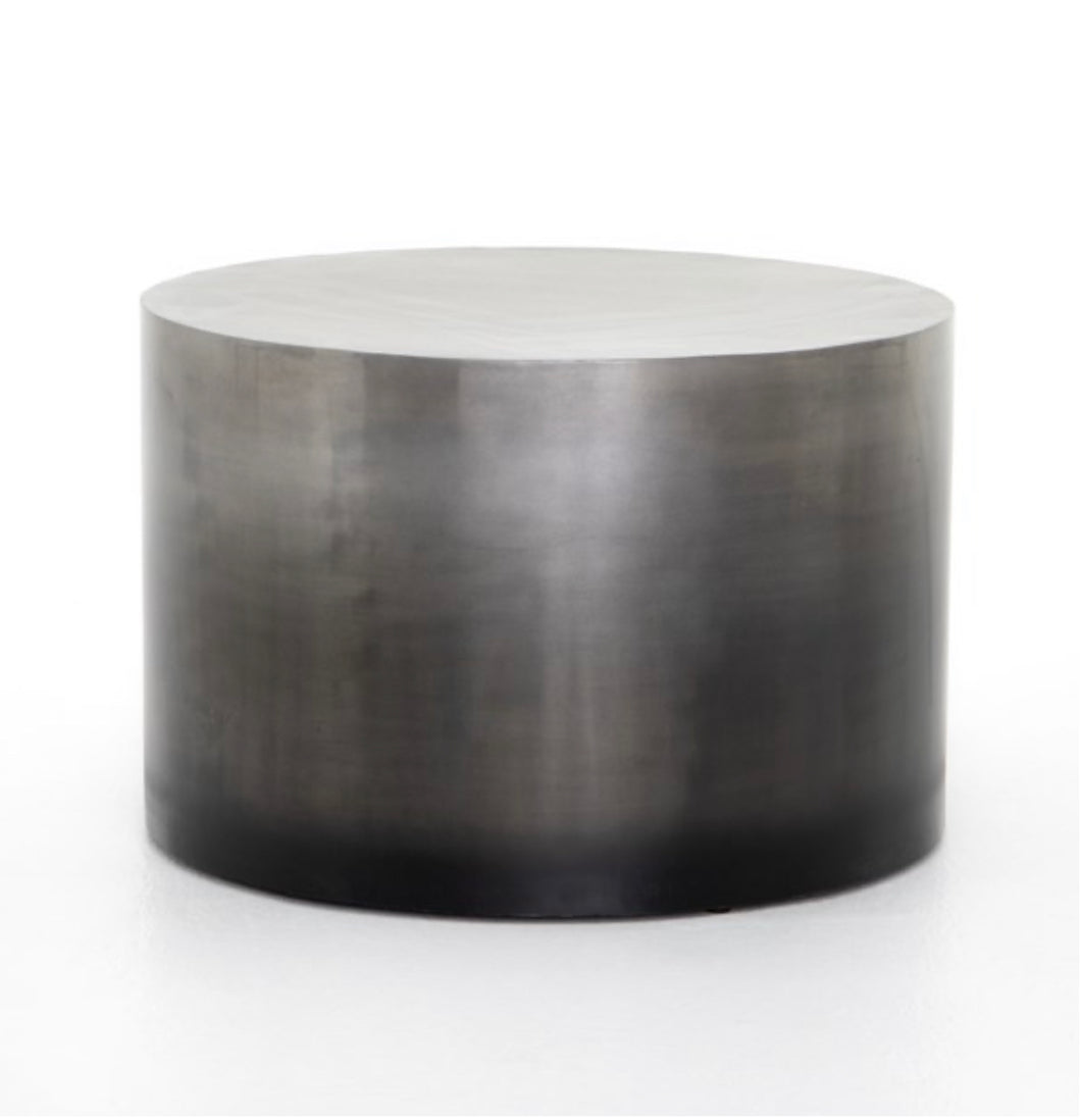 Cameron Ombré Bunching Table-Pewter