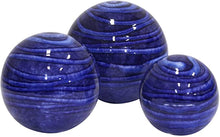 Load image into Gallery viewer, Ceramic Spheres Blue Large