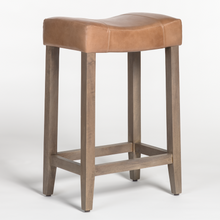 Load image into Gallery viewer, Knox Saddle Bar Stool