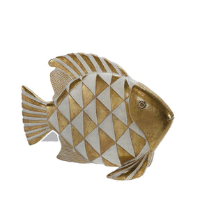 Abstract Fish Figurine