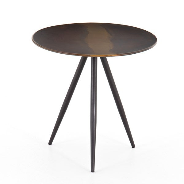 Amira End Table - Distressed Ombre