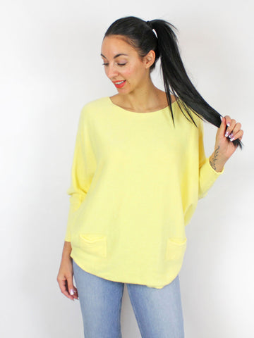Lemon Yellow Jumper