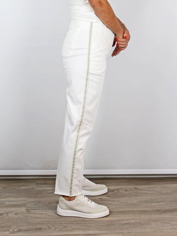 Luisa Cerano Side Stripe Trousers Side