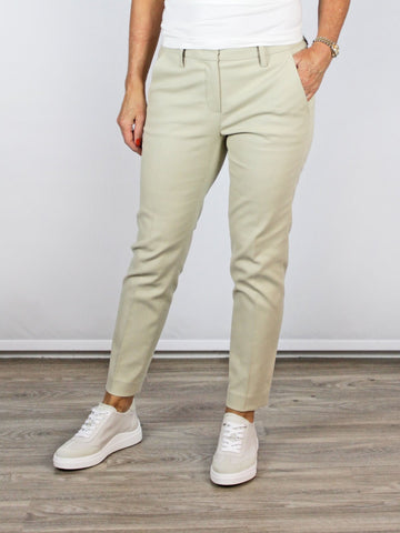 Luisa Cerano Smart Trousers Beige