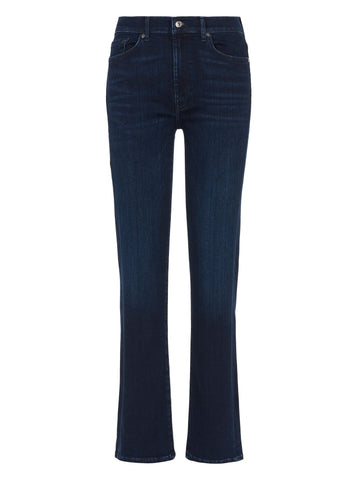 7 For All Mankind Straight Slim Illusion Jeans Dark Blue