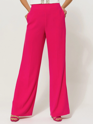 Access Fashion Wide Leg Trouser Pink