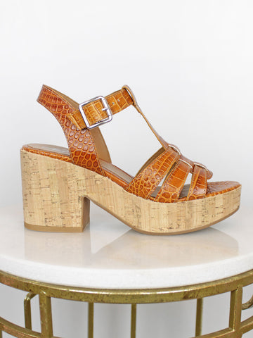 Alpe tan wedges