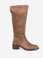 Alpe Knee High Tan Boots