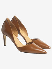 TAN MID HEELS BY MALENE BIRGER