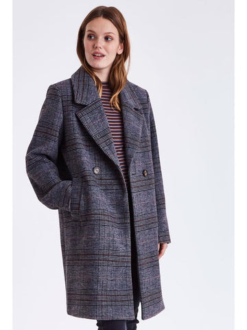 B Young ByAmano Boyfriend Coat Grey