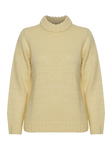 B Young ByMyra Jumper Yellow