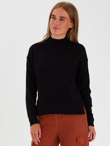 B Young ByNonina Turtle Neck Black