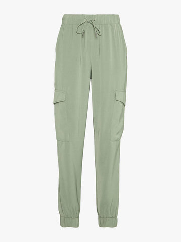 B Young Byabel Cargo Pants Sea Green