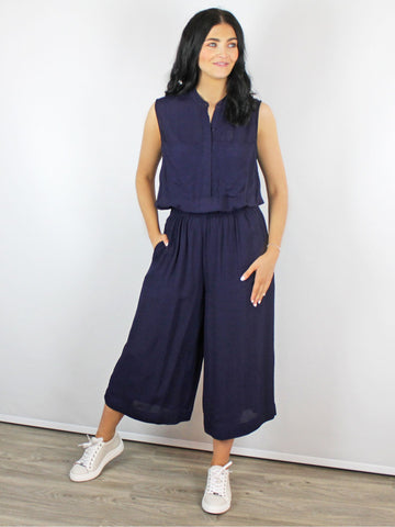Blank London Timsy Jumpsuit Navy