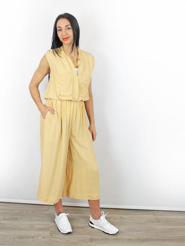 Blank London Timsy Jumpsuit Sand