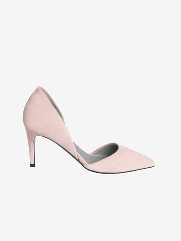By Malene Birger Blush Pink Mid Heel Court Shoes