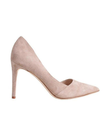 By Malene Birger Cream Mid Heel Court Shoes