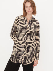 By Malene Birger zebra print shirt
