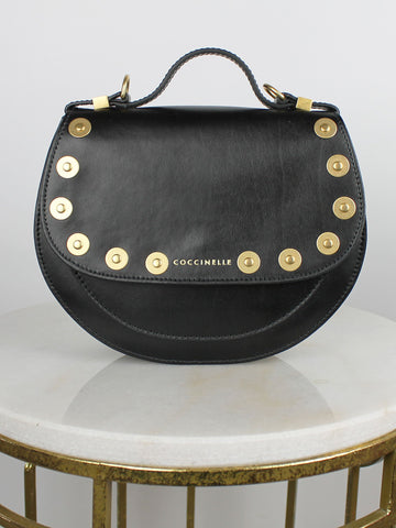 Coccinelle Small Studded Bag Black