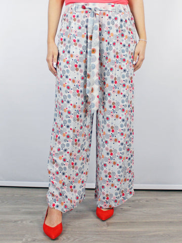 Conditions Apply Suzani Pants Circular Print