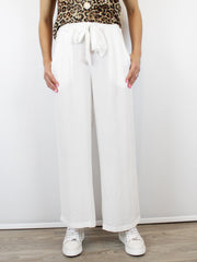 Conditions Apply wide leg trousers off white
