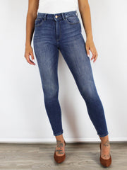 DL1961 FARROW HIGH WAIST SKINNY JEANS IN MARCOS