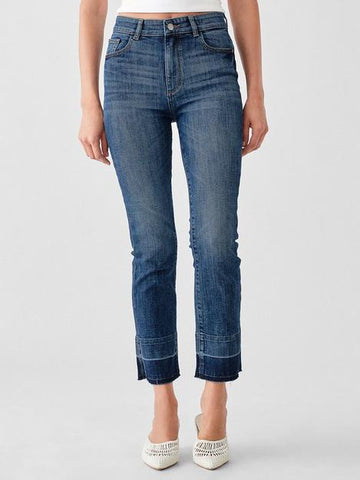 DL1961 Mara Straight Leg Ankle Jeans Stratton