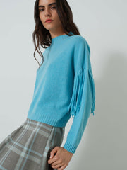 Emme Marella Preston Tassel Jumper Blue