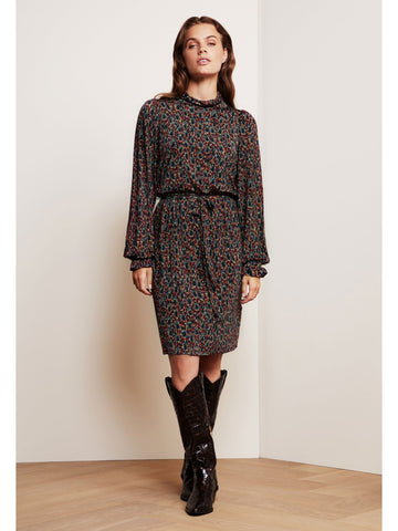 Fabienne Chapot Billy Printed Dress Rust