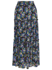 Fresha Printed Gypsy Skirt Morning Glory