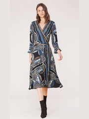 Hale Bob Wrap Dress