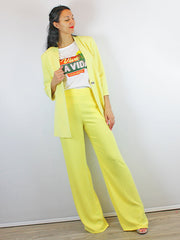 Access Fashion Suit Yellow