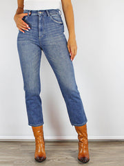 Jerry Denim Culotte Jeans