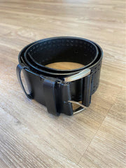 Vimoda Lazer Cut Belt Black