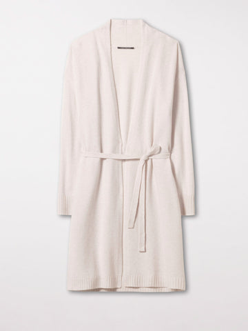 Luisa Cerano Long Cardigan Chalk