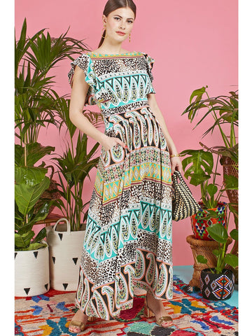 Onjenu Rosie maxi dress