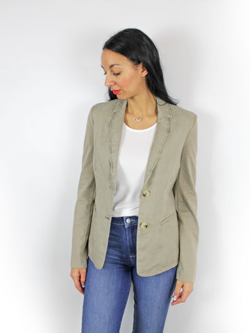 Oui blazer light khaki
