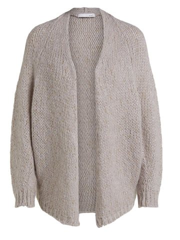 Oui Cardigan Light Stone