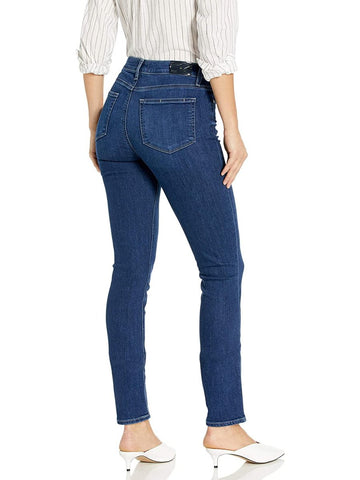 Paige Hoxton Ankle Skinny Jeans Brentwood Wash back pic