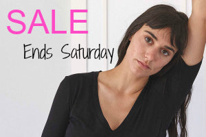 Sale Ends Saturday
