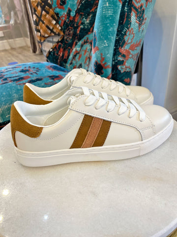 Sofie Schnoor Side Stripe Trainers Cream